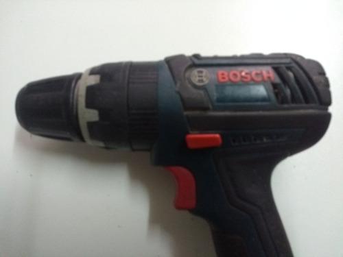 taladro bosh atornillado con percutor de 18v con 2 baterias.