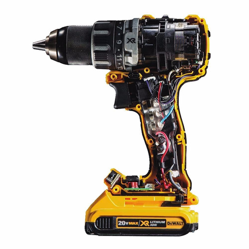 Taladro brushless dewalt dcd791d2 20v motor sin escobillas for Dewalt 20v brushless motor