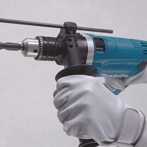 taladro con percutor makita hp1630 710w 13mm v. variable