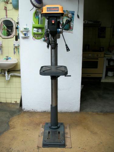 taladro d pedestal truper 1 hp herramientas industria broca
