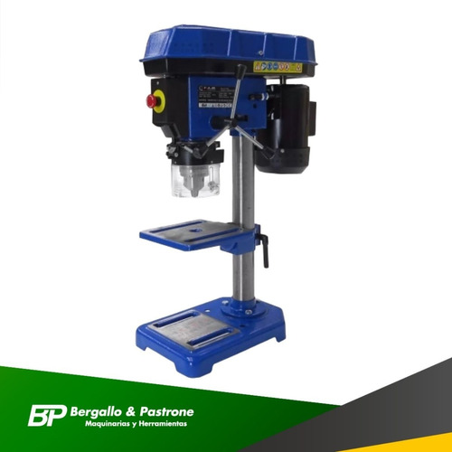 taladro de banco 16 mm kld motor 3/4 5 velocidad profesional