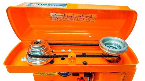 taladro de banco lusqtoff tb-13c 13mm + morsa + kit de seguridad