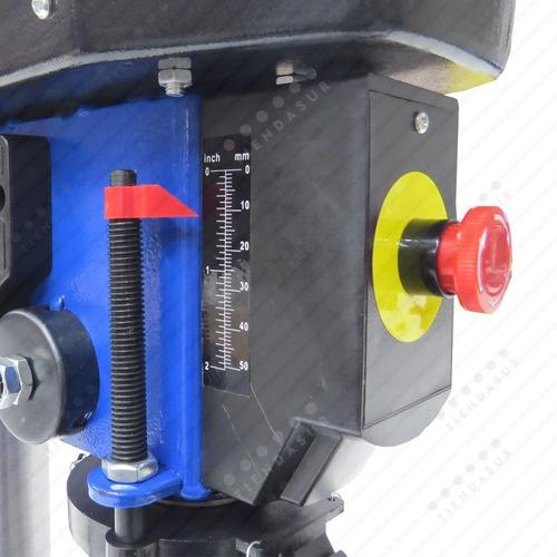 taladro de banco mandril 16 mm kld 500w 5 velocidades