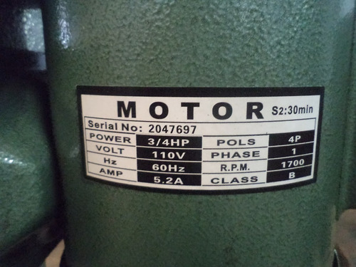 taladro de pedestal 16 velocidades mandril de 5/8 y 3/4 hp