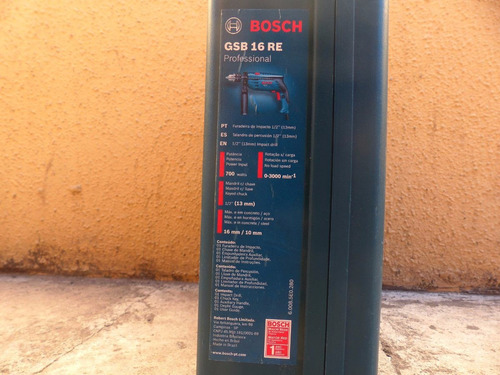 Taladro de percusi n bosch gsb 16 re professional 55 - Bosch gsb 16 re ...