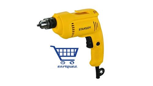 taladro de rotación / reversible stanley 550 watts