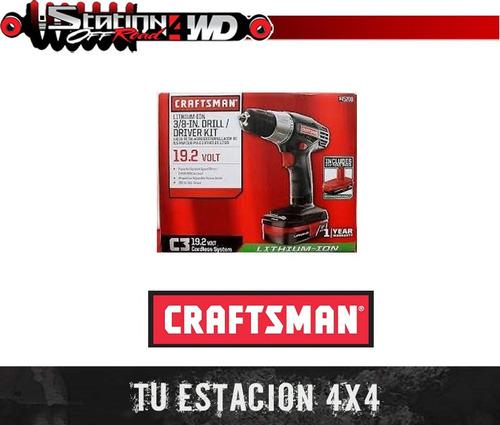 taladro destornillador craftsman inalambrico 19.2v