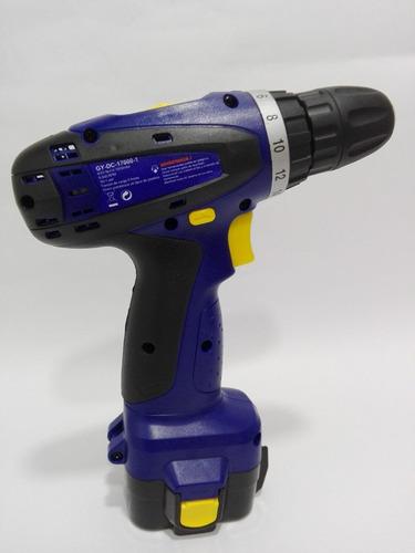 taladro-destornillador inalámbrico goodyear gy-dc-17000-1