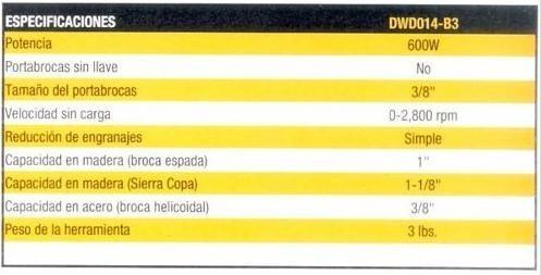 taladro dewalt dwd014 nuevo original