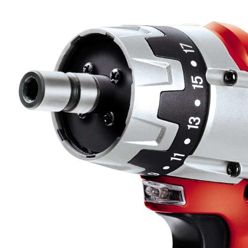 taladro einhell atornillador inalambrico 12v bat + cargador