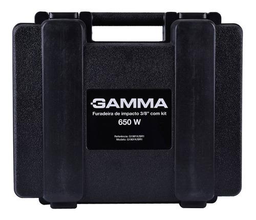taladro gamma de impacto en kit g1901kar + maletin