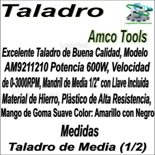 taladro herramienta amco tools modelo am9211210 hogar