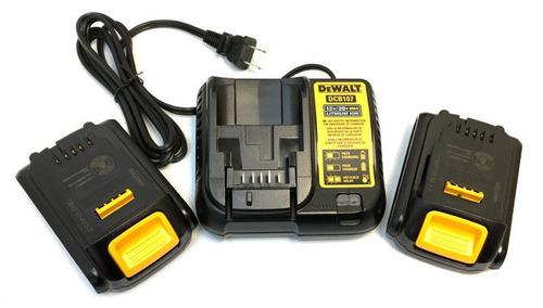 taladro inalambrico dewalt 20 v, 2 baterias. nuevo. r y m.