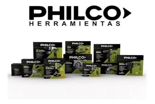 taladro inalambrico philco 14.4v bateria usb litio maletin