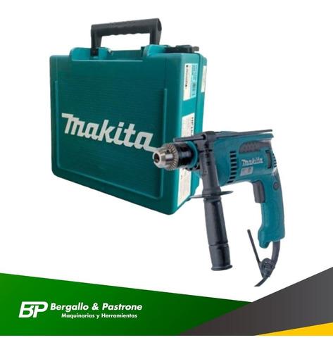 taladro makita hp1640k 13mm 680w 2800rpm percutor + maletin