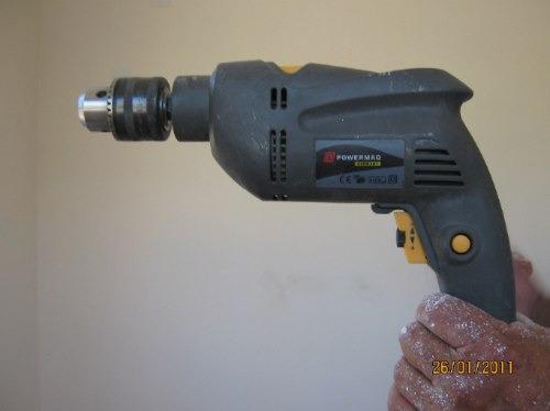 taladro manual 500w. percutor powermaq-germany 13 mm mandril