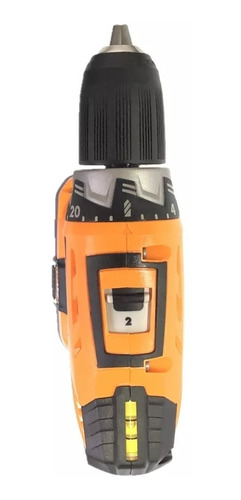 taladro percusión 13mm lusqtoff + cargador + bateria