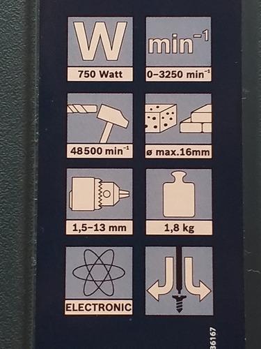 taladro percutir 750 wts mas esmeril angular