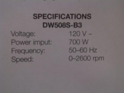 taladro percutor 1/2 700w dewalt modelo dw508s original!