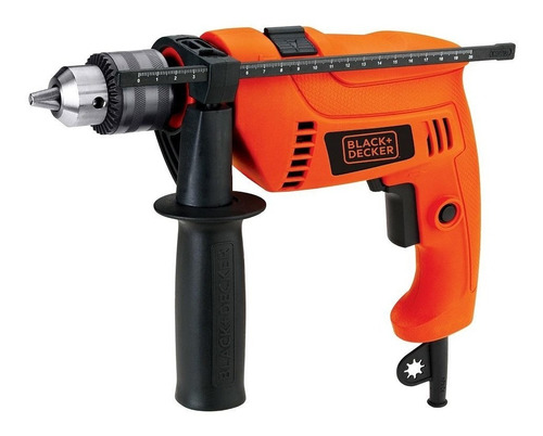 taladro percutor 1/2 pg. 550w + set 13 brocas black + decker