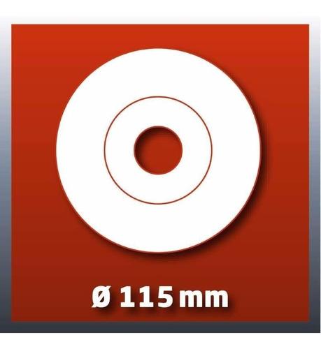 taladro percutor autoajustable 13mm einhell + amoladora 600w