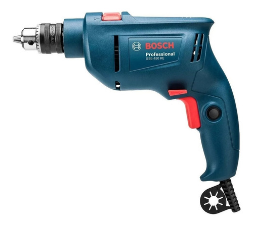 taladro percutor bosch 450w gsb 450 re 10mm vel variable