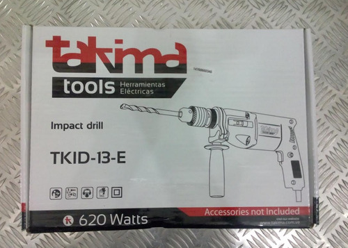 taladro percutor de impacto takima 13 mm (1/2), 620 w hd