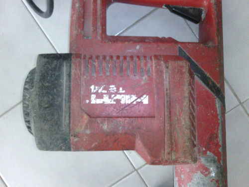 taladro percutor demolicion rotormartillo hilti te-74.guanta