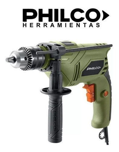 taladro percutor electrico philco 710w control vel meptp126