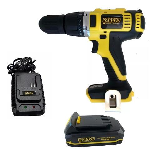 taladro percutor inal barovo atornillador + bater + cargador