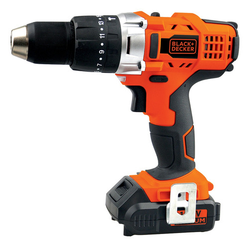 taladro percutor inalambrico 14.4v black decker hp14
