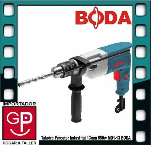 taladro percutor industrial 13mm 650w md1-13 boda g p