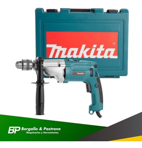 taladro percutor makita hp2070 13mm 1010w 2 velocid mecánico