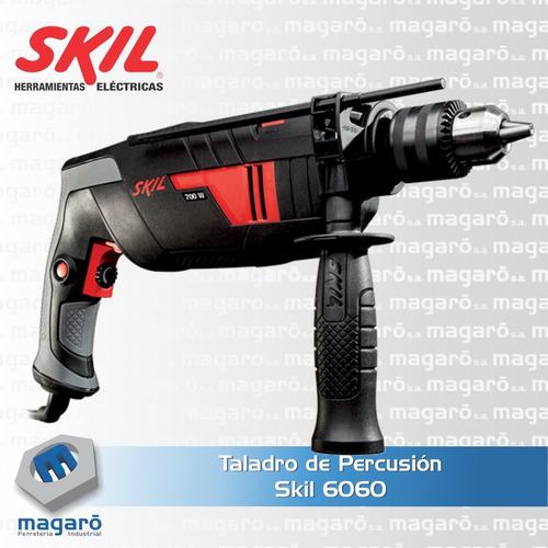 taladro percutor reversa 13mm vel variable skil 6060 600w