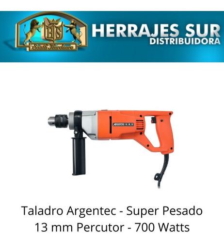 taladro pesado argentec 13 mm ge713 con percutor  700 watts