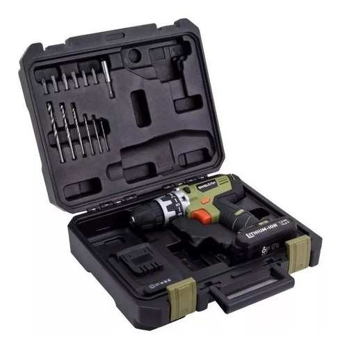 taladro philco atornillador inalambrico bateria litio 14,4v