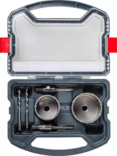taladro rotomartillo einhell +bateria y cargador + kit copa