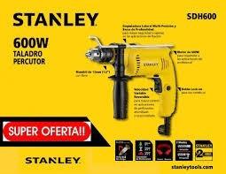 taladro stanley con percusión 13mm sdh600 zona norte oferta!