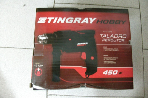 taladro stingray hobby 450w 13mm con percutor