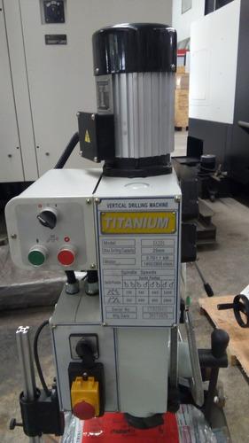 taladros de banco engranado marca titanium