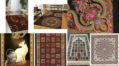 talagarças e telas de juta pintadas à mão sob encomenda