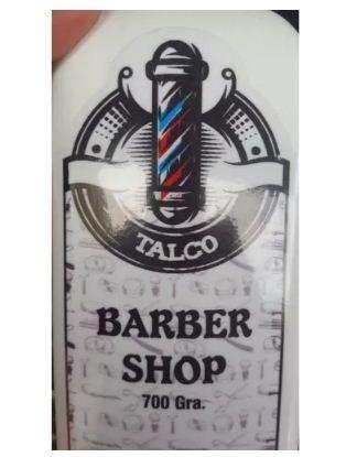 talco corporal barberia barbershop para protección 700 grs