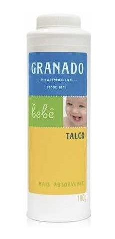 talco infantil granado bebê 100g