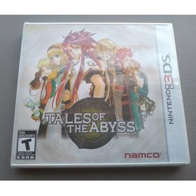 Tales Of The Abyss Original Americano E Lacrado Nintendo 3ds