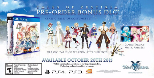tales of zestiria standard edition ps4 delivery stock ya