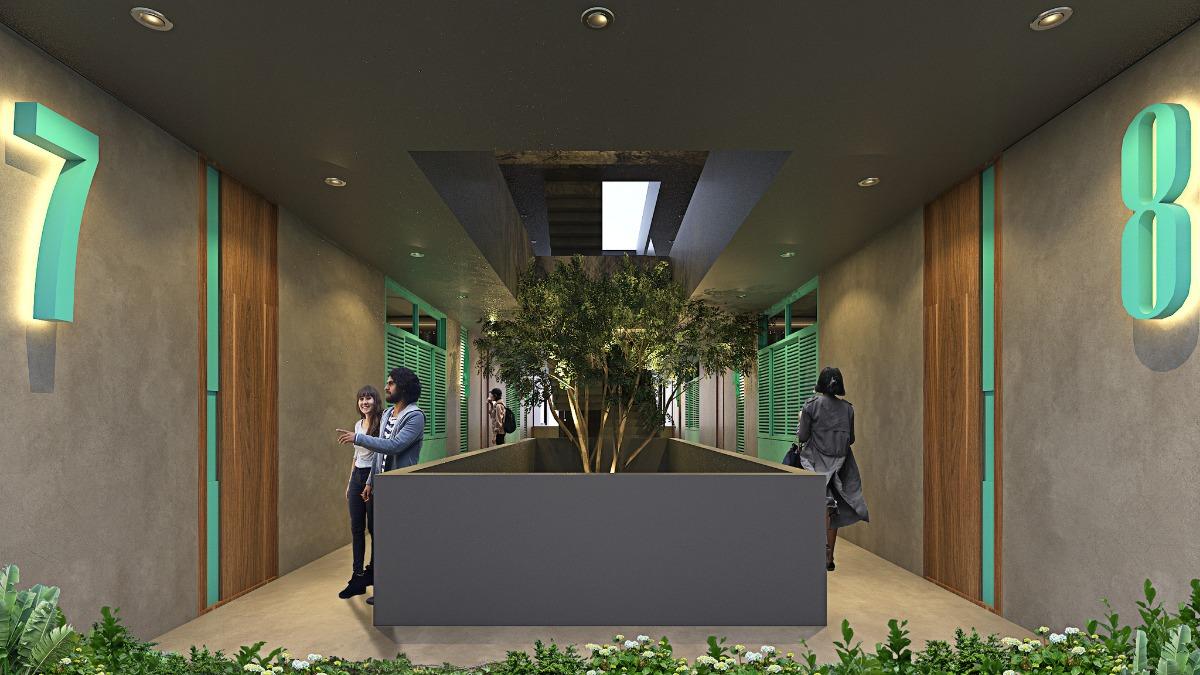 taliva preventa departamentos en privada dentro de la ciudad con roof garden