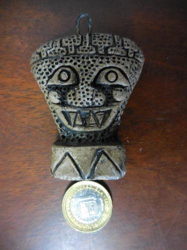 talla dios del sol cara triangular colombia