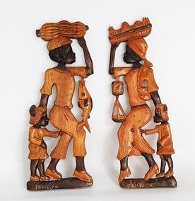 Escudo De Tigre En Madera Artesanias Colgantes Moviles Arte Y