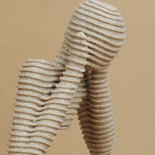 tallado figurilla de piedra arenisca talla escultura abstrac