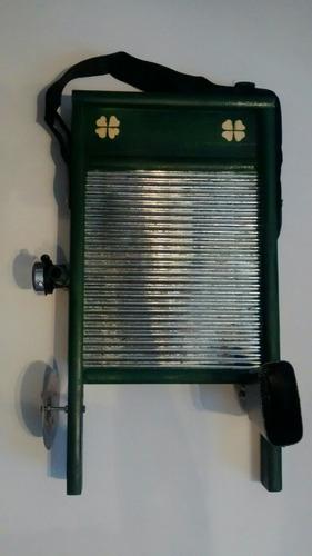 tallador musical c platillo, cencerro, campana y envio